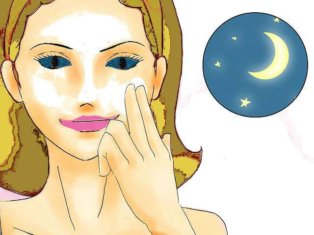 pulizia del viso struccare viso la sera